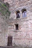 Средневековый замок в Marostica в Виченца в венето (Италия) Стоковое Фото