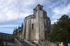 Средневековый замок в Tomar Стоковое фото RF