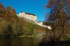 Средневековый замок чех Sternberk Стоковые Изображения
