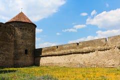 Средневековый замок Стоковое фото RF
