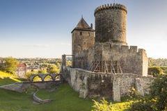 Средневековый замок - Bedzin, Польша стоковое изображение