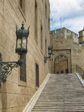 Средневековый замок Bojnice Стоковое фото RF