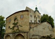 Средневековый замок Buchlov Стоковая Фотография RF