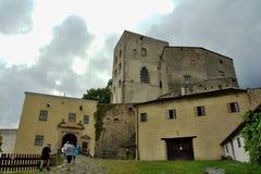 Средневековый замок Buchlov Стоковая Фотография