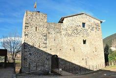 Средневековый замок junvinya Стоковая Фотография