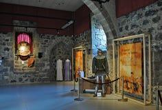 Средневековый замок junvinya Стоковые Изображения RF