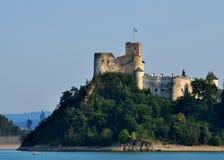 Средневековый замок Niedzica Стоковые Фото