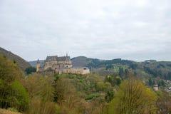 Средневековый замок Vianden Стоковое фото RF