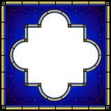 Средневековый дизайн стиля граничил рамку Стоковые Изображения RF