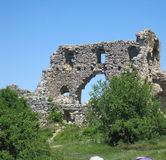 Средневековый каменный городок Стоковое Изображение RF
