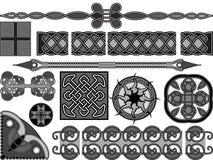 Средневековый кельтский тип Стоковое фото RF