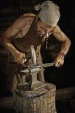 Средневековый кузнец Стоковое Изображение RF