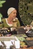 Средневековый купец стоковое фото rf