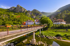 Средневековый монастырь Dobrun в Босния и Герцеговина Стоковая Фотография RF