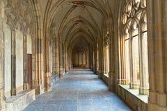 Средневековый монастырь Pandhof в Utrecht, Нидерландов Стоковое Фото