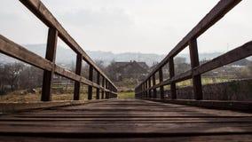 Средневековый мост castel Стоковые Фотографии RF