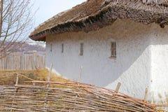 Средневековый дом в украинском стиле Стоковое фото RF