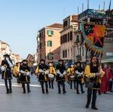 Средневековый парад Стоковые Изображения