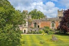 Средневековый пейзаж ванны города, Сомерсет, Англия Стоковая Фотография RF