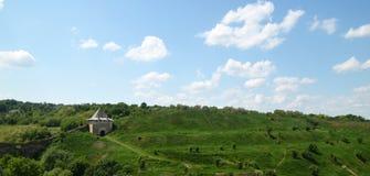 Средневековый пейзаж Стоковое Изображение RF
