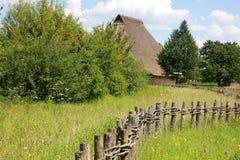 Средневековый сельский дом Стоковые Изображения RF