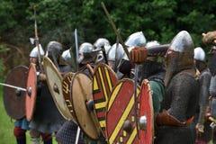 Средневековый фестиваль боев стоковая фотография