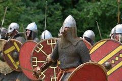 Средневековый фестиваль боев Стоковые Фотографии RF
