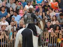 2016 средневековый фестиваль 4 Стоковое Изображение RF