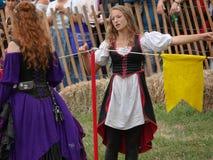 2016 средневековый фестиваль 16 Стоковые Фотографии RF