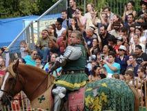 2016 средневековый фестиваль 20 Стоковое Фото