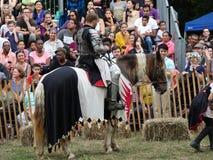 2016 средневековый фестиваль 24 Стоковые Фотографии RF