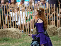 2016 средневековый фестиваль 27 Стоковая Фотография