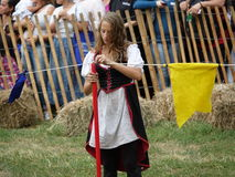 2016 средневековый фестиваль 31 Стоковая Фотография