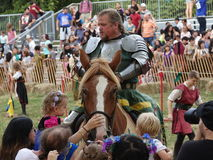 2016 средневековый фестиваль 71 Стоковые Фотографии RF
