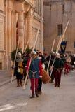 Средневековый фестиваль Mdina Стоковое Изображение