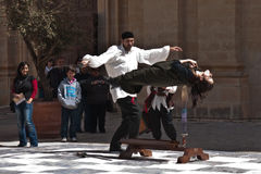 Средневековый фестиваль Mdina Стоковое фото RF