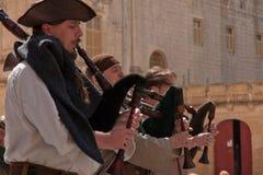 Средневековый фестиваль Mdina Стоковое Изображение RF