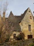 Средневековый французский дом Стоковые Фото