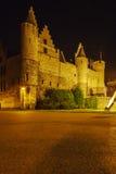 Средневековый Het Steen замка, Антверпен, Бельгия Стоковые Фотографии RF