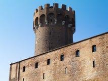 Средневековый Teutonic замок в Польша Стоковое фото RF