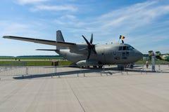 Среднего размера войска транспортируют воздушные судн Alenia C-27J спартанское Стоковые Изображения