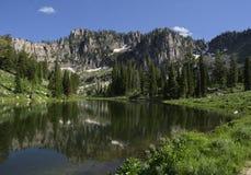 Среднее озеро Bloomington Стоковое Изображение RF