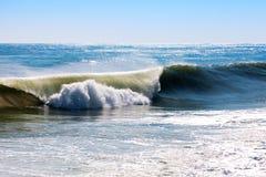 Среднеземноморская волна во время шторма Стоковое Фото