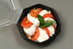 Среднеземноморская еда диеты Стоковая Фотография