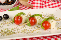 Среднеземноморская закуска Стоковые Изображения RF