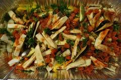 Среднеземноморская кухня (ГРЕЦИЯ) Стоковое Изображение RF