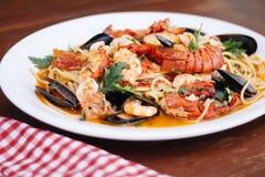 Среднеземноморская кухня Стоковая Фотография