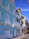 Среднеземноморские балконы Стоковая Фотография