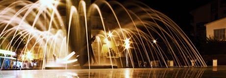 Среднеземноморские выставки ночи Стоковое Изображение RF