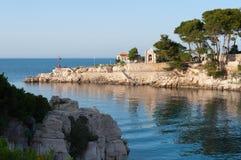 Среднеземноморское море залива Стоковая Фотография